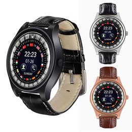 наручные часы для мужчин Скидка R68 Смарт Часы Кожа Наручные Мужчины Спорт На Открытом Воздухе Smartwatch Сна Tracker Call Напоминание Часы Поддержка SIM-Карты TF Карта Для Android IOS
