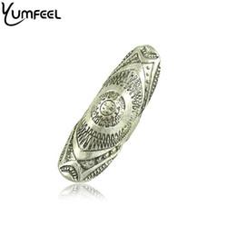 2019 diseños antiguos anillos de oro anillo antiguo Yumfeel Nuevo diseño único Anillos punk Anillos antiguos de color dorado y plateado antiguo diseños antiguos anillos de oro baratos