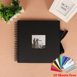 Canada 18 pouce bricolage bobine arc photo film album carte postale collé à la main couple rétro bébé mariage photo autocollant album personnalisation cadeau Offre