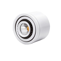 2020 luce principale spot 7w Surface Mounted LED COB giù luce 3W / 7W / 10W / 18W lampada a LED AC85V-265V soffitto Spot Light con driver LED bianco / bianco caldo sconti luce principale spot 7w