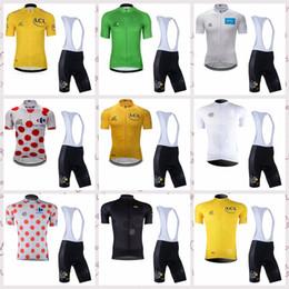 2019 équipe cycliste saxo bank TOUR DE FRANCE équipe cuissard cyclisme manches courtes en jersey définit respirant séchage rapide vêtements de sport en plein air vêtements pour hommes Q60940