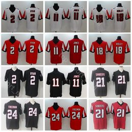 7a4c4cd29 Atlanta Falcons Football 2 Matt Ryan Jersey Men 11 Julio Jones 24 Devonta  Freeman 18 Ridley 21 Desmond Trufant Vapor Untouchable
