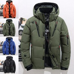 b7063f9035 Fashion Men Long Sleeve Thick Jacket Coat Snow Male Winter Warm Clothing  Jacket Outerwear M-3XL 4 Colors