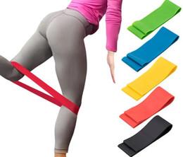 5 Colori Elastico Yoga Gomma Resistenza Assist Bande Gomma per Attrezzature per il Fitness Esercizio Banda Allenamento Pull Rope Stretch Cross Training # JS09 da