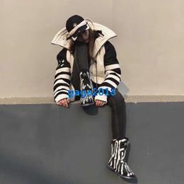 2019 camisas de manga larga broche Chaqueta de bombardero de alta calidad para niñas, rayas, ocho diagramas, broche, manga larga, blusa, camisa, diseño de moda, sudadera de lujo, prendas de vestir exteriores camisas de manga larga broche baratos