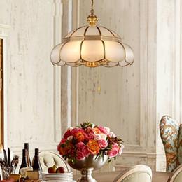Vintage Bakır Cam Ile LED Kolye Işıkları Oturma Odası Yemek odası Mutfak Için Cam Gölge Ile Kolye Lamba lampa wiszaca nereden