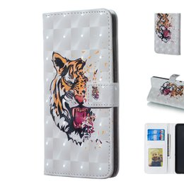 3d-тигр Скидка Реалистичный 3D Tiger Design телефон чехол с подставкой для карт памяти слот фоторамка