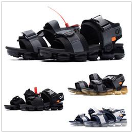 pantofole bianche signore Sconti I più venduti Vapors da uomo Nero bianco donna unisex infradito in sughero pantofole moda sport estivi sandali casuali euro 36-45