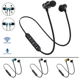 Auricolari poco costosi online-Cheap XT11 magnetica Bluetooth 4.2 Wireless Stereo Headset In-ear cuffia auricolare per l'iphone XS Max 8 Inoltre Samsung S10 + Huawei P30