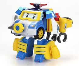 Robocar poli toys online-Silverlit Poli Action Pack-Diving Robocar Poli Juguetes deformables Versión actualizada regalos de novedad juguetes inteligentes para niños niños LA90