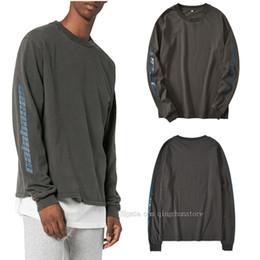 Hot New Style Kanye West Crew Neck Sweatshirt Men Women Calabasas Oversized  Cotton Hoodie Sweater Hip Hop Streetwear Club Tees e3033006d