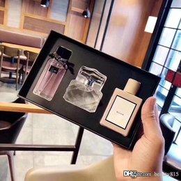 muito bonito Desconto Perfume para a fragrância mulheres senhora Perfume The Limited Set Floral Perfumes três amostras variedades de sabor de alta qualidade e gratuito Entrega