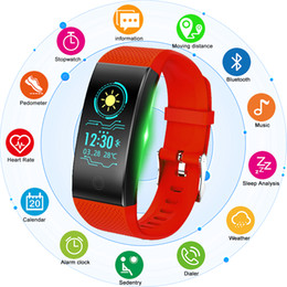 braccialetti intelligenti di promemoria dei messaggi Sconti Smart Watches CHENXI brand bracelet wristband bluetooth heart rate message reminder Sleep Monitoring for IOS Android phone