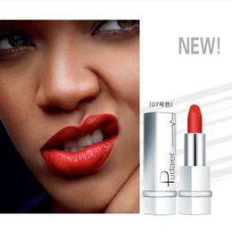 Tinte naturali della labbra online-Pudaier Soft Sexy Red Brown Velvet Matte Rossetto a lunga durata Tint Lip Stick Nude Natural 17 colori trucco cosmetico per le donne