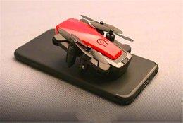 Câmera wifi alta on-line-Dobrável Mini Drone Com / Sem HD Câmera de Alta Hold Modo RC Quadcopter RTF WiFi FPV Dobrável RC RC E61Free Entrega