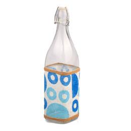 Vaso de decoração bonita on-line-2018 novo criativo atraente bela forma quadrada chá suco de fruta beber garrafa xícara de flor de vidro vaso de mesa de escritório em casa decoração