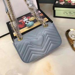 Designer-totes für frauen online-Designer-Handtaschen Tote für Frauen Kette einzelne Umhängetasche Classic Crosbody Messenger Bag Frankreich Paris Stil Handtasche Einkaufstasche Tote