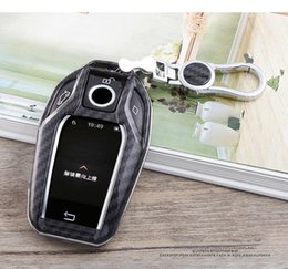 2019 capa da chave x5 Carbon Fiber carro Caso chave Shell Capa sacos para BMW 7 Series 730Li 740Li 750Li 760Li 5 da série I12 G12 G11 G20 G30 530le x3 tampas x4 x5 desconto capa da chave x5