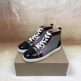 Billige Rote Glitzer Hohe Schuhe Online Großhandel