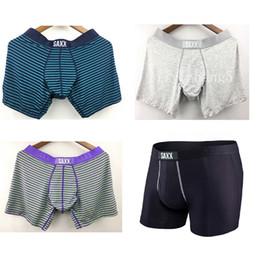 2019 roupa interior de qualidade para homens Promoção-Atacado-SAXX ULTRA / VIBE Boxer Underwear dos homens ~ 95% viscose, 5% spandex-EUA tamanho de alta qualidade frete grátis roupa interior de qualidade para homens barato