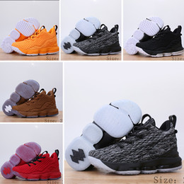 uk availability 5e70d cb825 NIike Lebron XV EP 15 Baby Mädchen Jungen Kinder Breathable Basketball  Sneaker Designer Marke Wudao Athletic Sport Freizeitschuhe Frühling  Laufende Kinder ...