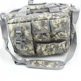 "Походная сумка камера на плечо онлайн-14"" Tactical Molle pouch  Shoulder Computer Bags Outdoor Sports Hiking Backpack Laptop Camera Crossbody Bag Messenger Me"