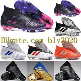 adidas Predator 19+ FG x Pogba SchwarzShock Pink