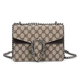 Argentina Nuevas mujeres de la moda bolsos de diseño de cuero genuino Dionysian Bag Chain Crossbody Messenger Bag Mini bolso de hombro Prush Tote 17 20 28 cm Suministro