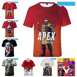 ff17510e75b4c 2019 jeux t shirts Vêtements pour enfants 110cm-160cm apex Legends chaud  jeu 3D imprimé