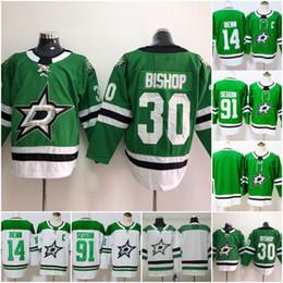 2019 Dallas Stars 91 Tyler Seguin Ice Hockey Jerseys 14 Jamie Benn 30 Ben  Bishop Jersey Men Blank Green Color Team All Stitched S-3XL fe112a956