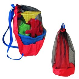 Beach/sand Toys 1pc Beach Swimming Bag Mounchain Durable Holding Toys Balls Beach Mesh Tote Bag Children Toys Stay Away From Sand Swim Sport Bag