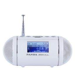alto-falantes de rádio ds Desconto PANDA DS-147 alto-falante interruptor temporizador canção letras sincronizadas FM Rádio U disco / TF cartão MP3 player