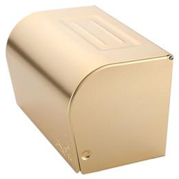 Titular de papel de baño antiguo online-Aseo antiguo rollo de papel titular de baño caja de pañuelos impermeable servilleta de almacenamiento armarios de baño WC Suministros Europea