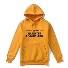 Argentina ESCRITO Y DIRIGIDO POR QUENTIN TARANTINO Hombres sudadera con capucha Mujer Casual Marca Felpe Sudaderas con capucha Ropa de abrigo de alta calidad Swe Suministro