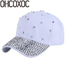 femmes casquette nouvelle mode casquette de baseball chapeaux perles à la main en strass casquettes de luxe femme fille casual casquettes os gorras casquette # 179901 ? partir de fabricateur