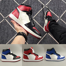 f6876a895 Spiderman X 1 OG Basketball Shoes For Mens Womens 2019 Best Quality 1S High  Chicago Sports Designer Sneakers Without box Eur 36-45