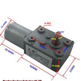DC12V//24V Metal Gear Box Reducer Motor 190~400rpm 100-350W For Electric Bike//DIY