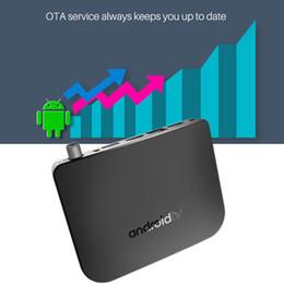android-tv-top-box Rabatt M8S PLUS DVB-TV-Box für Android DVB-S / S2 / S2X Set-Top-Box-TV für Android 7.1 Amlogic S905D Quad-Core 1 GB 8 GB 4 K WiFi Airplay Miracast