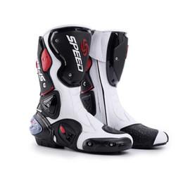 Bottes de Moto Moto Racing Chaussures de Moto Off-Road Motocross Noir / Blanc Taille 40/41/42/43/44/45 ? partir de fabricateur
