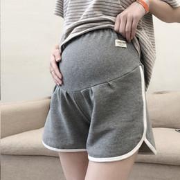 2019 нейлоновые женщины беременные Хлопок беременных женщин шорты случайные спортивные брюки для беременных лето новый негабаритных 2019 хороший эластичный мягкий материнства днища