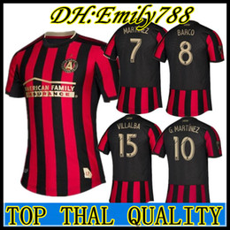 Principali s online-19 20 qualità della Thailandia Atlanta united soccer jersey GARZA JONES Major league soccer VILLALBA MCCANN 2019 2020 maglia da calcio uniforme