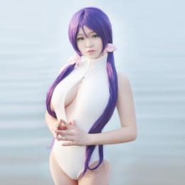 Onesies abertas on-line-Best selling sexy roupas de desempenho onesies cosplay anime dois yuan irmã bonito peito aberto maiô calças justas