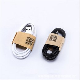 Samsung cable blanco online-Usb C tipo c Cable micro usb 1m 3 pies blanco negro color Cables de carga de datos usb para samsung s6 s7 edge s8 s9 htc teléfono android 7 8 x