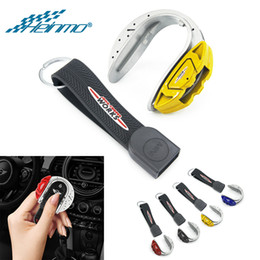 2019 chave para nissan qashqai Para MINI Cooper F54 F55 F56 F57 Clubman Acessórios Car Key capa protetora para o MINI Countryman F60 Key Caso Styling Titular