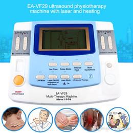 ultrasonido medico Rebajas Combinación de ultrasonido decenas acupuntura láser máquina de fisioterapia EA-VF29 equipo médico ultrasónico envío gratis
