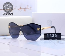 2019 óculos de sol jawbreaker 19Versace top designers da marca dos óculos de sol para mulheres dos homens Medusa vidros de sol unidade Masculino de alta qualidade polarizado UV400 Impulsionada Sunglasses V05