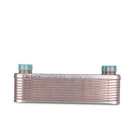 """plate wort 20 Plates Wort ,Plate heat exchanger,Stainless Steel 304, Brewing Chiller, 1 2"""" NPT Garden Hose Thread Heat Exchanger"""