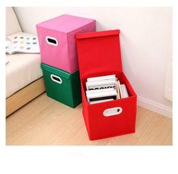 Spielzeug schublade box online-Faltbare Multifunktions-Aufbewahrungsbox Home Clothe Gehäusedeckel Schublade Spielzeug Stoff Unterwäsche Socken-BH-Kleidungs-Regale zusammenklappbar Organisieren LJJT30