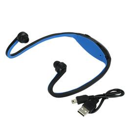 billige einzelhandelstelefone Rabatt Nackenbügel Bluetooth Kopfhörer Drahtlose Headset Sport Kopfhörer Knochenleitung Ohrhörer Unterstützung TF Karte Für Samsung XiaoMi MP3