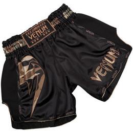 Ммa чемоданы онлайн-Venum Мужчины ММА шорты Бокс Стволы Bad Man Fight Shorts бокса Брюки джиу джитсу Тайгер Муай Тай штаны Тонкий Муай Тай Обучение Шорты
